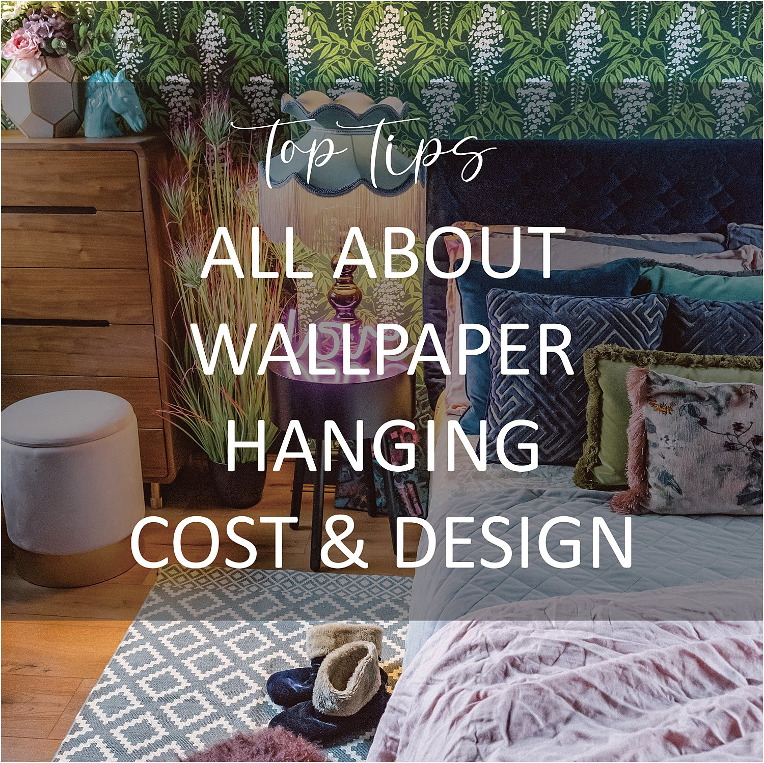 wallpaper-hanging-tips-British-designer-Fiona-Howard-spring-refresh-interior-design